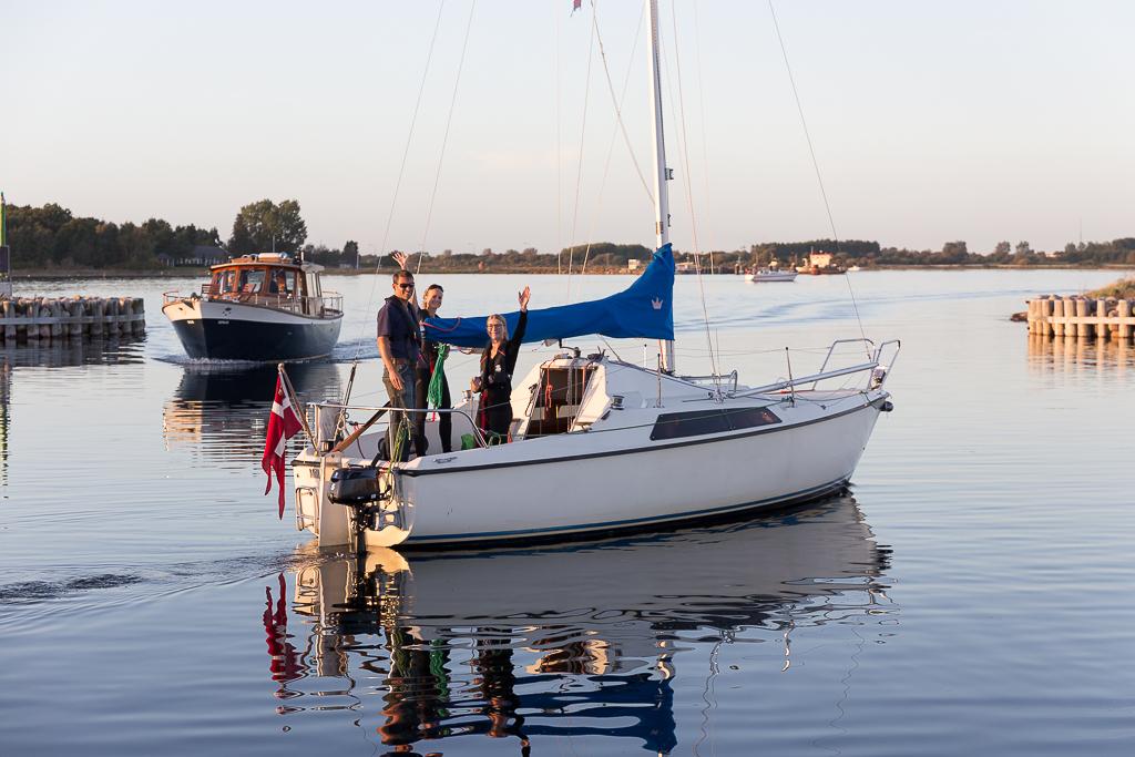 Solosejlads - instruktøren har forladt båden