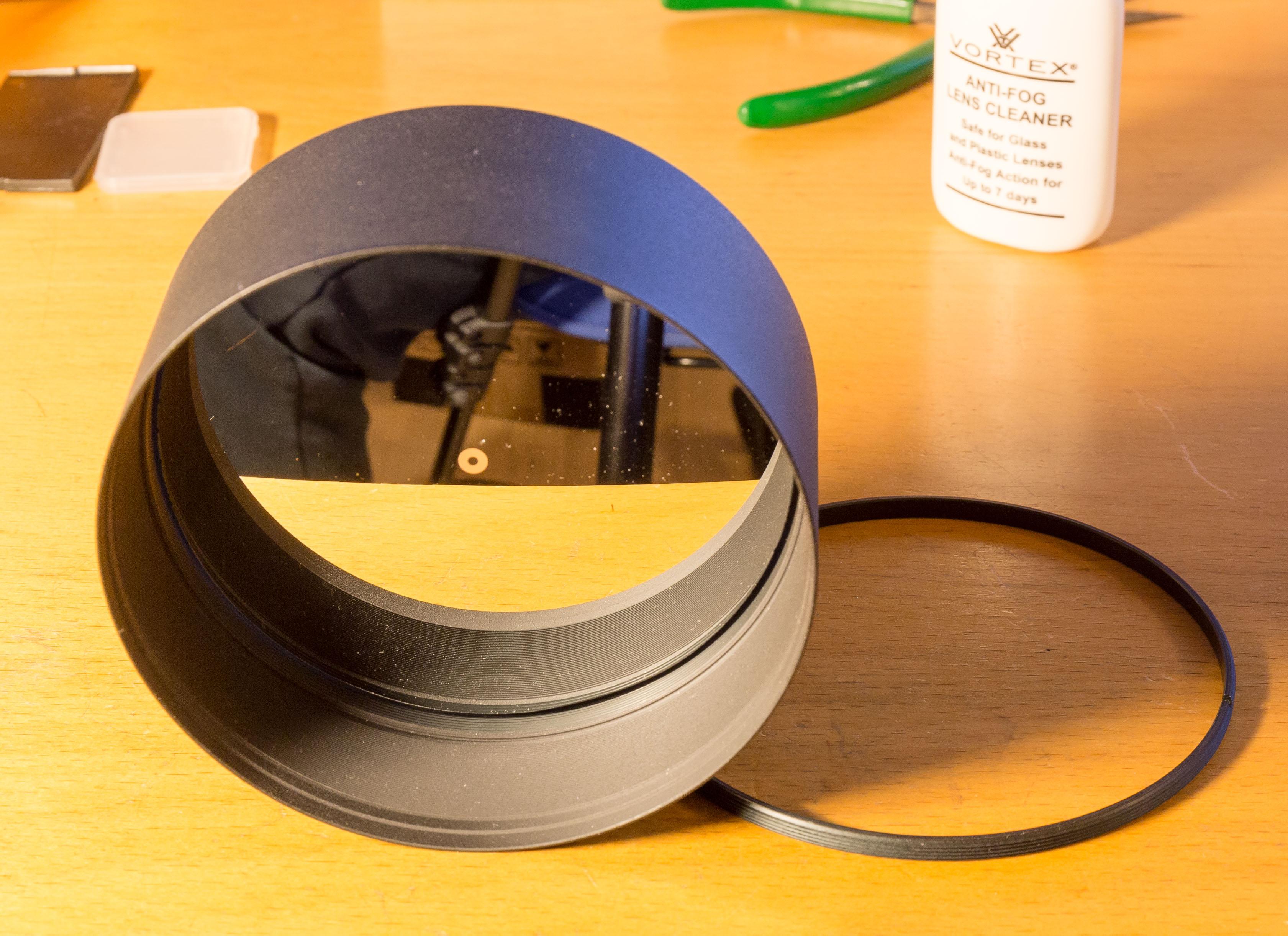 Sekundært spejl til RC10